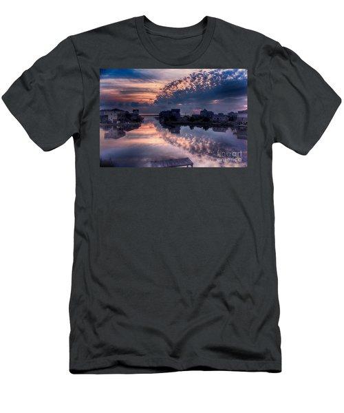 Reflecting On North Carolina Men's T-Shirt (Slim Fit) by Tony Cooper