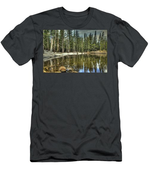 reflecting pond Carson Spur Men's T-Shirt (Athletic Fit)
