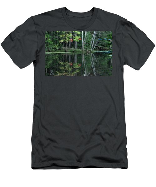 Men's T-Shirt (Slim Fit) featuring the photograph Reflection by Bruce Patrick Smith