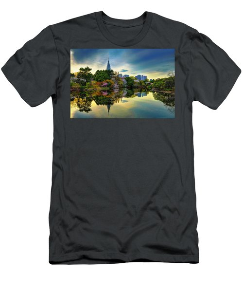Reflection Of Spring Men's T-Shirt (Athletic Fit)