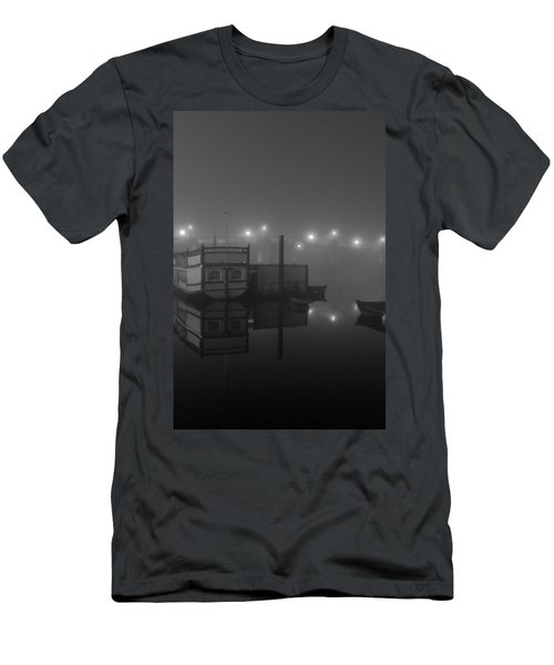 Reflection On Misty Thames  Men's T-Shirt (Athletic Fit)