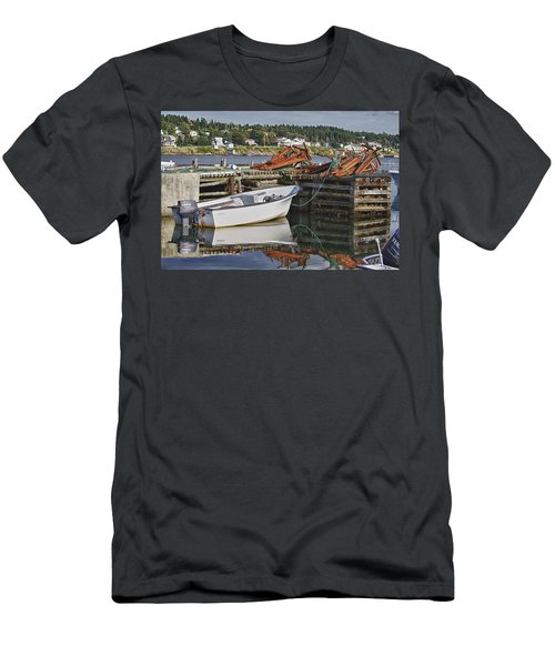 Men's T-Shirt (Slim Fit) featuring the photograph Reflections by Eunice Gibb