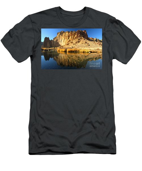 Reflections In The Crooked River Men's T-Shirt (Athletic Fit)