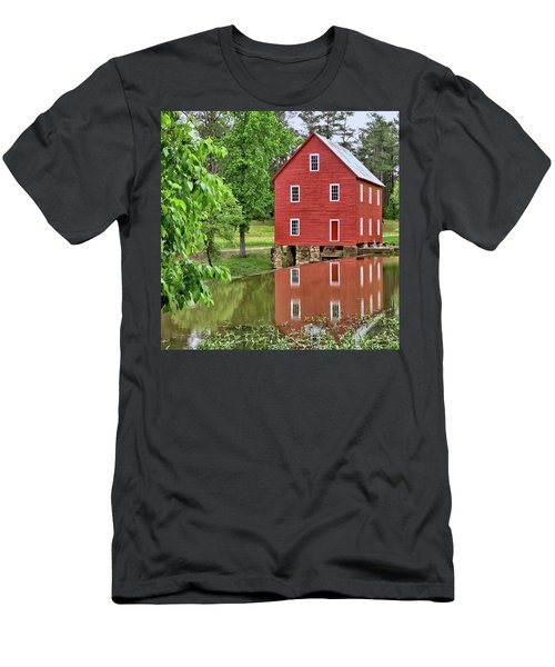 Reflections Of A Retired Grist Mill - Square Men's T-Shirt (Athletic Fit)