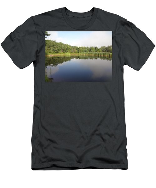 Reflections Of A Still Pond Men's T-Shirt (Slim Fit) by Michael Porchik