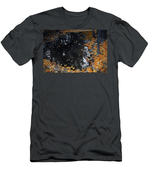 Men's T-Shirt (Slim Fit) featuring the photograph Reflections Of Autumn by Photographic Arts And Design Studio