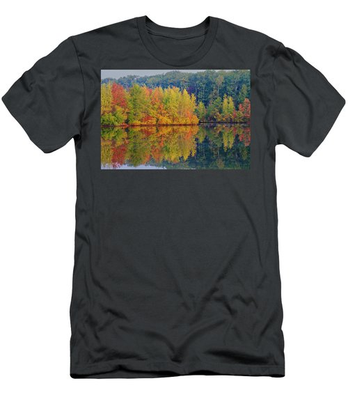 Reflections Of Fall Men's T-Shirt (Athletic Fit)