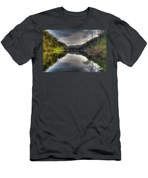 Reflections On Adda River Men's T-Shirt (Athletic Fit)