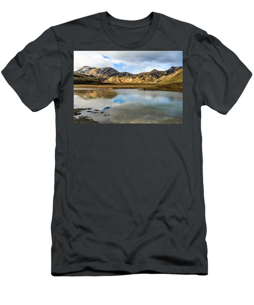 Reflections On Landmannalaugar Men's T-Shirt (Athletic Fit)