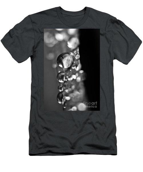 Reflective Rain Men's T-Shirt (Slim Fit) by Cheryl Baxter