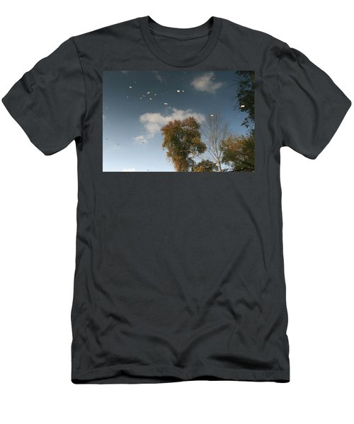 Men's T-Shirt (Slim Fit) featuring the photograph Reflective Thoughts  by Neal Eslinger