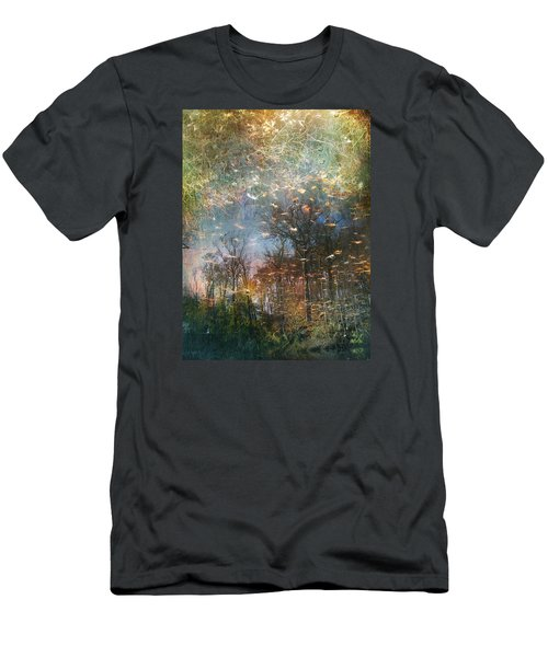 Men's T-Shirt (Slim Fit) featuring the photograph Reflective Waters by John Rivera