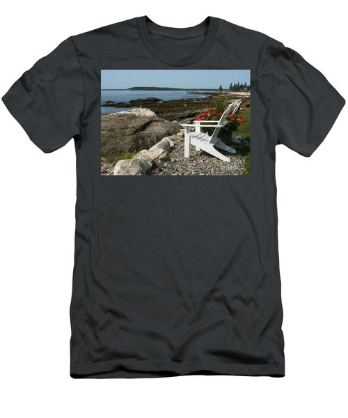 Men's T-Shirt (Slim Fit) featuring the photograph Relaxing Afternoon by Mariarosa Rockefeller