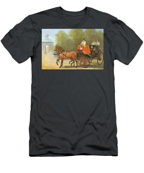 Returning From Her Majestys Drawing Room Men's T-Shirt (Athletic Fit)