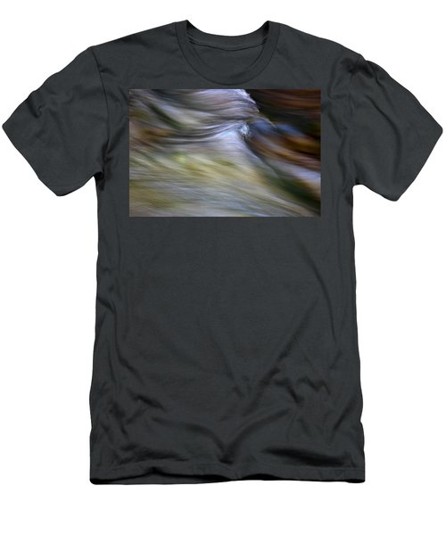 Rhythm Of The River Men's T-Shirt (Slim Fit) by Michael Eingle