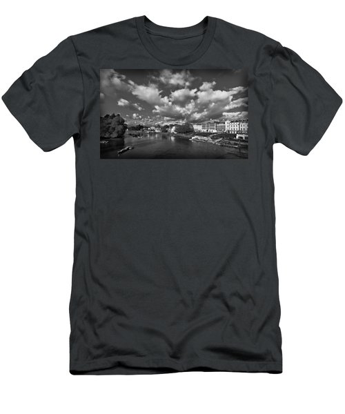 Richmond Riverside Men's T-Shirt (Slim Fit) by Maj Seda