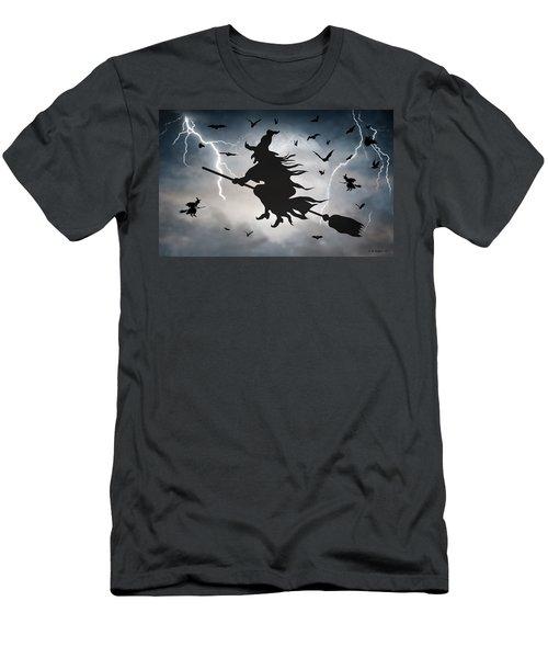 Ride Like Lighting Men's T-Shirt (Athletic Fit)