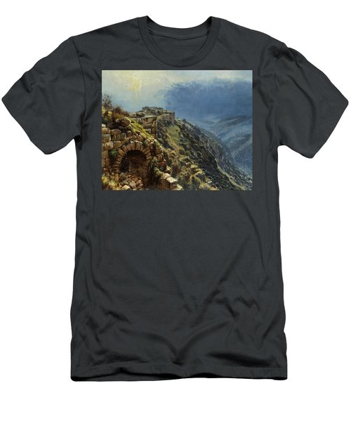 Rider On A White Horse Men's T-Shirt (Athletic Fit)