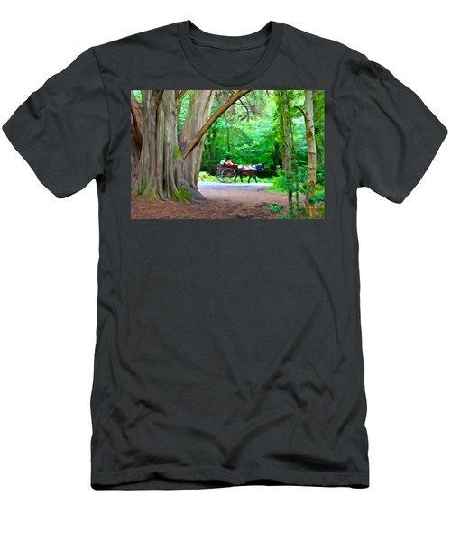 Riding In Style Men's T-Shirt (Athletic Fit)