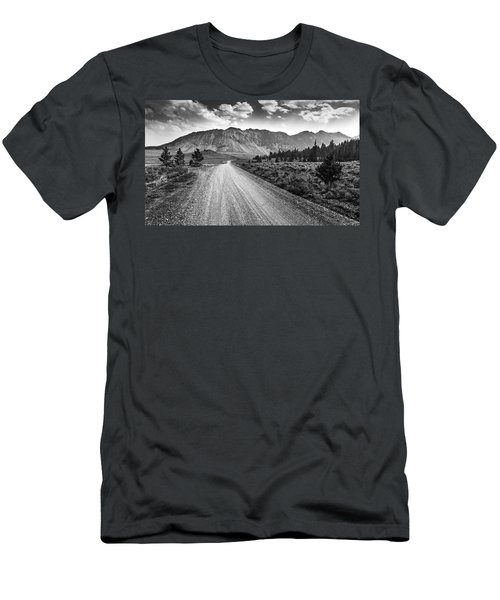 Riding To The Mountains Men's T-Shirt (Athletic Fit)