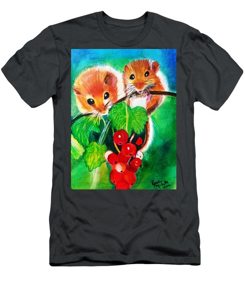 Ripe-n-ready Cherry Tomatoes Men's T-Shirt (Athletic Fit)