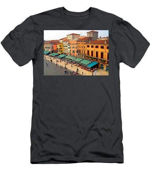 Ristorante Olivo Sas Piazza Bra Men's T-Shirt (Athletic Fit)