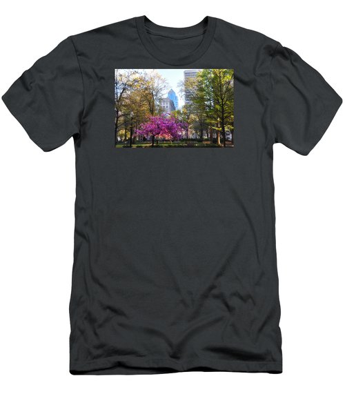 Rittenhouse Square In Springtime Men's T-Shirt (Athletic Fit)