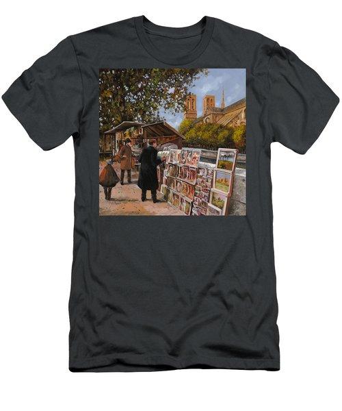 Rive Gouche Men's T-Shirt (Athletic Fit)