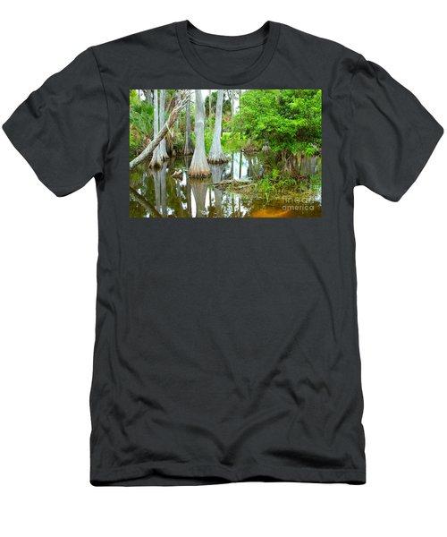 River Bend Lake Men's T-Shirt (Athletic Fit)