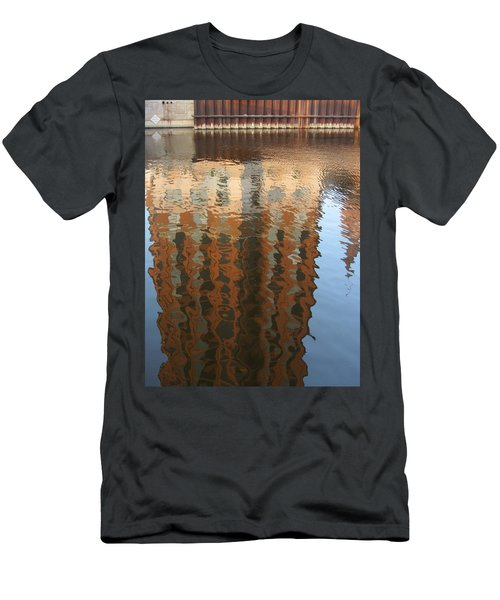 Riverwalk Reflection Men's T-Shirt (Athletic Fit)