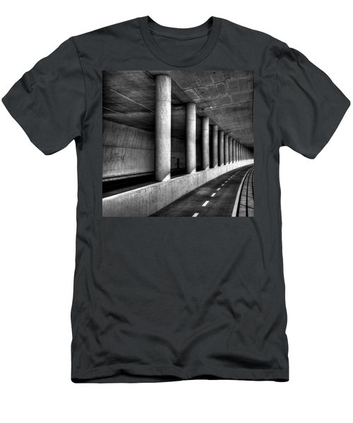 Road To Men's T-Shirt (Athletic Fit)
