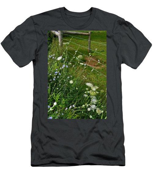Roadside Wildflowers Men's T-Shirt (Athletic Fit)