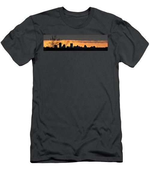 Rochester Skyline Men's T-Shirt (Athletic Fit)