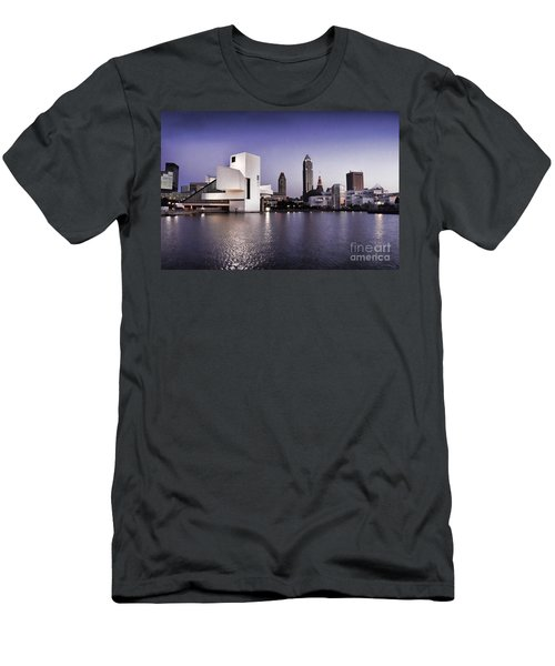 Rock And Roll Hall Of Fame - Cleveland Ohio - 2 Men's T-Shirt (Athletic Fit)