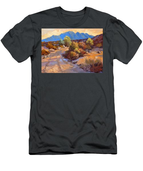 Rock Cairn At La Quinta Cove Men's T-Shirt (Athletic Fit)