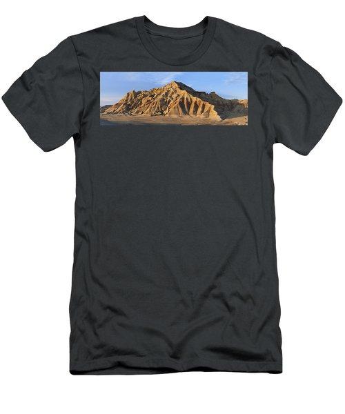 Rock Formation Bardenas Reales Navarra Men's T-Shirt (Athletic Fit)