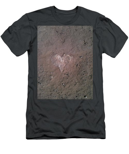 Rock Heart Men's T-Shirt (Athletic Fit)