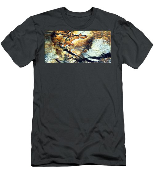 Rock Wasatch National Forest Ut Usa Men's T-Shirt (Athletic Fit)