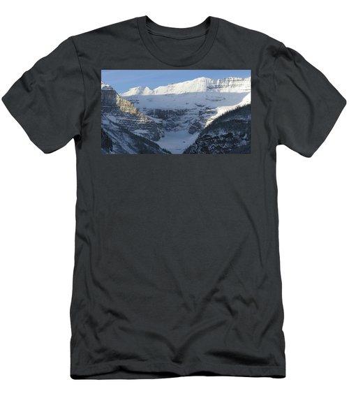 Rocky Mountain Blue Men's T-Shirt (Slim Fit) by Cheryl Miller