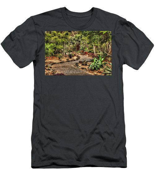 Men's T-Shirt (Athletic Fit) featuring the photograph Rocky Road by Tyson Kinnison