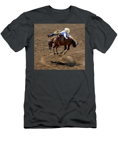 Rodeo Time Bucking Bronco 2 Men's T-Shirt (Athletic Fit)