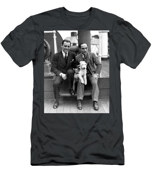 Men's T-Shirt (Slim Fit) featuring the photograph Rodgers And Hart by Granger