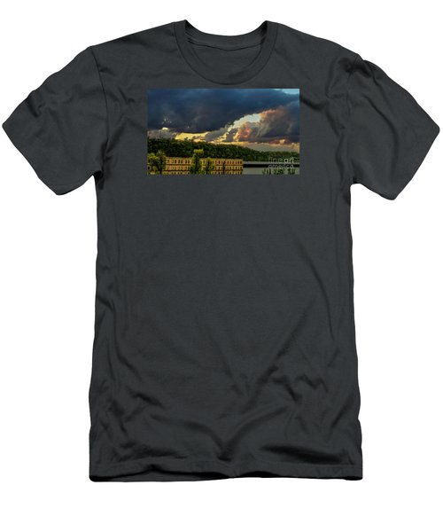 Storm Clouds Rolling In Men's T-Shirt (Athletic Fit)