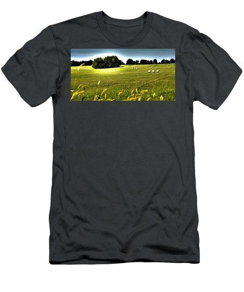 Rolling Pastures Men's T-Shirt (Athletic Fit)