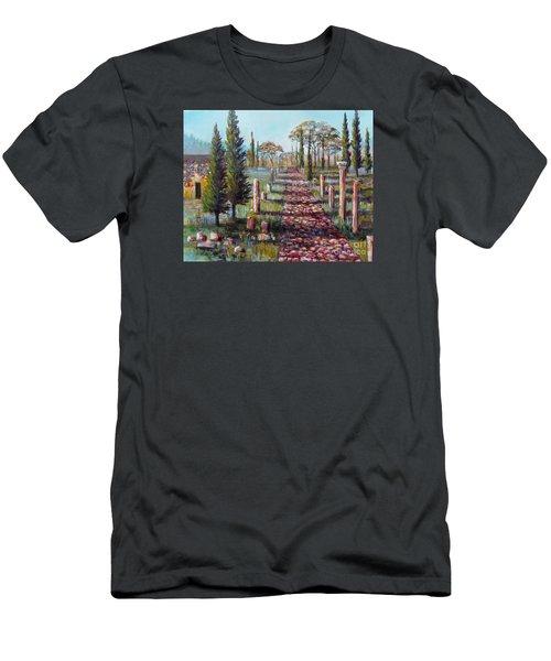 Roman Road Men's T-Shirt (Athletic Fit)