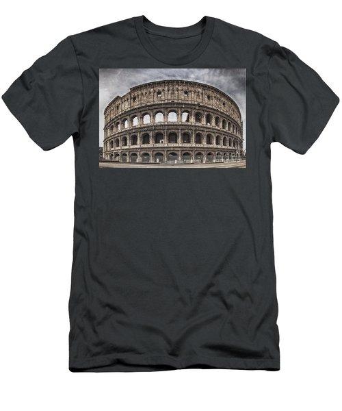 Rome Colosseum 02 Men's T-Shirt (Slim Fit) by Antony McAulay
