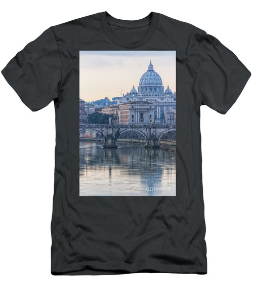 Rome Saint Peters Basilica 02 Men's T-Shirt (Athletic Fit)