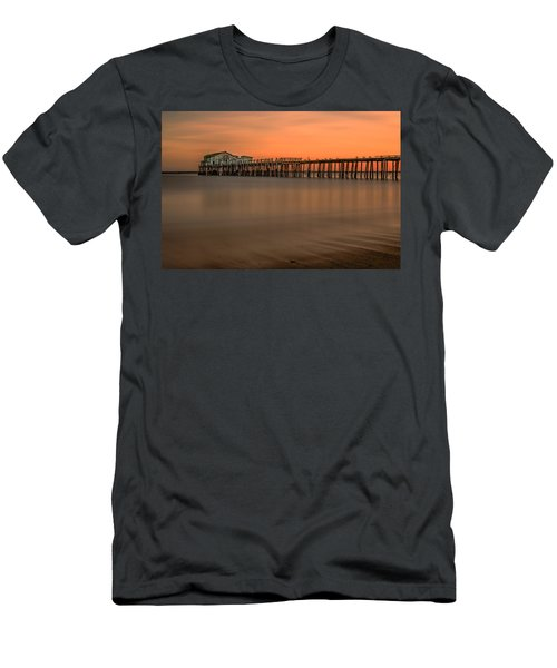 Romeo's Pier Men's T-Shirt (Athletic Fit)