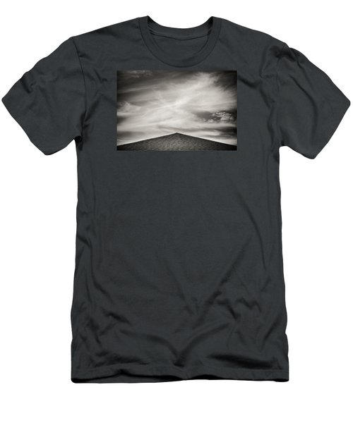 Men's T-Shirt (Slim Fit) featuring the photograph Rooftop Sky by Darryl Dalton