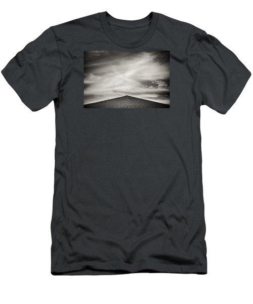 Rooftop Sky Men's T-Shirt (Athletic Fit)
